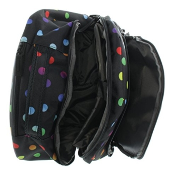 Franky Rucksacktrolley 16 Zoll Laptopfach Stern-Colordots -