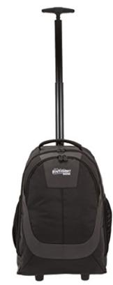 SOUTHWEST Trolley CARRIER XL Laptopfach Rucksack Trolleyrucksack SCHWARZ + Trinkflasche -